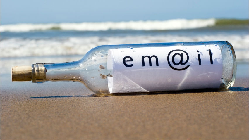 email marketing | email in a bottle | Cloud Surfing Media Digital Marketing